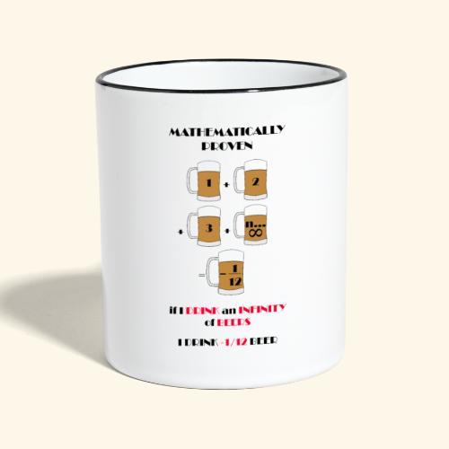 I do not drink much finally - Contrasting Mug