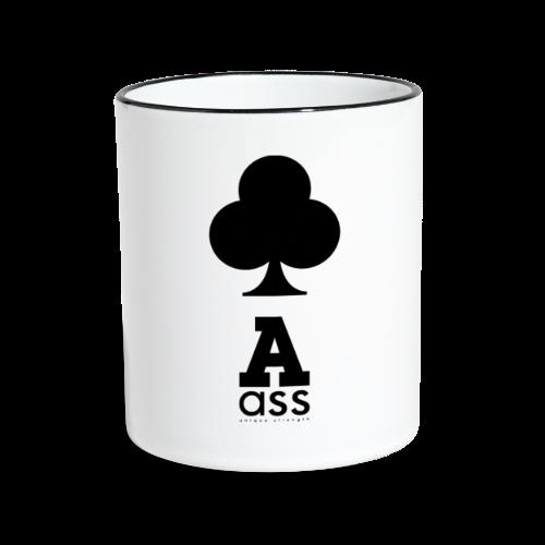 KREUZ ASS - Tasse zweifarbig