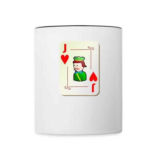 Jack of Hearts - Contrasting Mug
