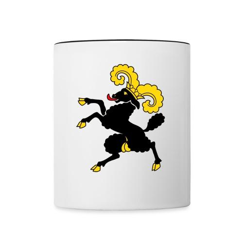 Schaffhauser Wappen - Tasse zweifarbig