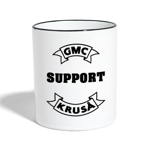 GMC SUPPORT - Tofarvet krus