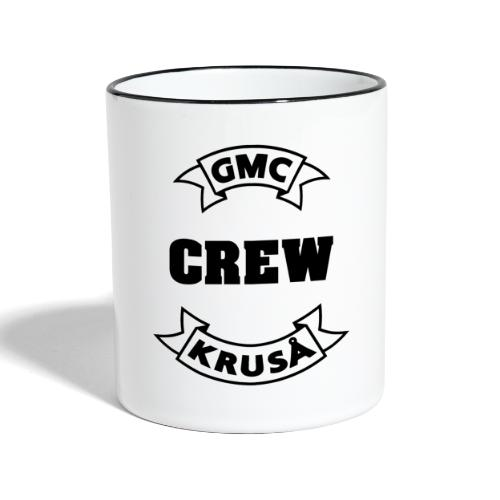 GMC CREWSHIRT - KUN FOR / CREW MEMBERS ONLY - Tofarvet krus