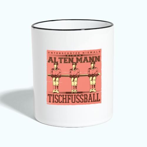 Tischfussball Freunde - Contrasting Mug