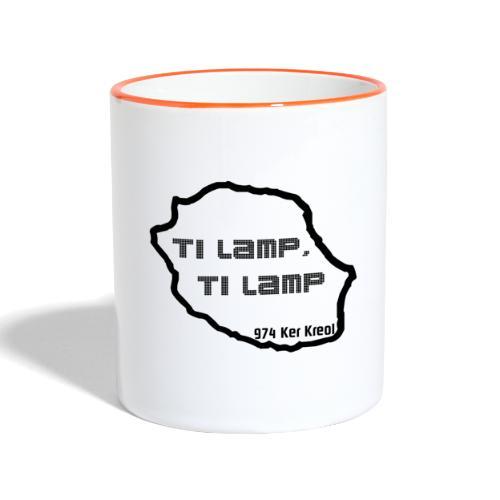 Ti lamp ti lamp - Mug contrasté