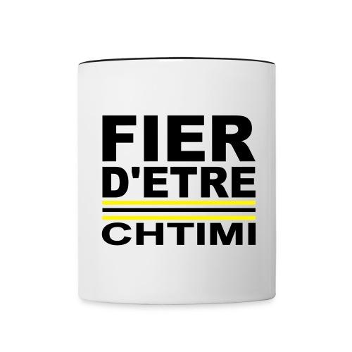 Fier D ETRE Chtimi Noir - Mug contrasté