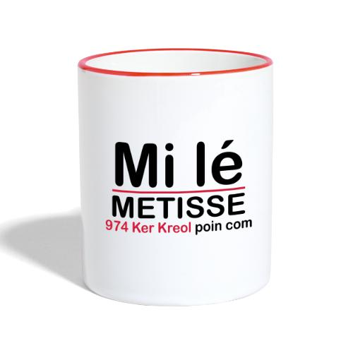 Mi lé METISSE - Mug contrasté