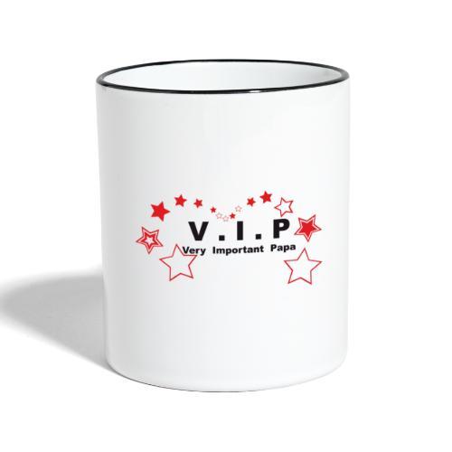 vip - very important papa Vecto - 07 graph - Mug contrasté