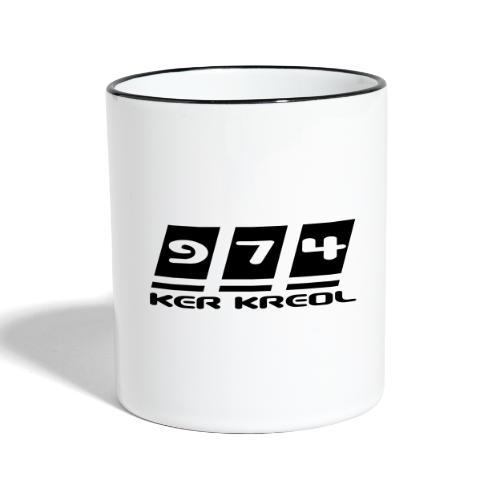 Ecriture 974 Ker Kreol - Mug contrasté