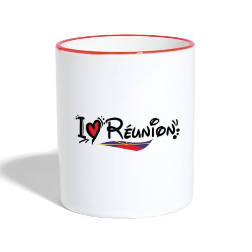 i love Réunion - MAHAVELI - Mug contrasté