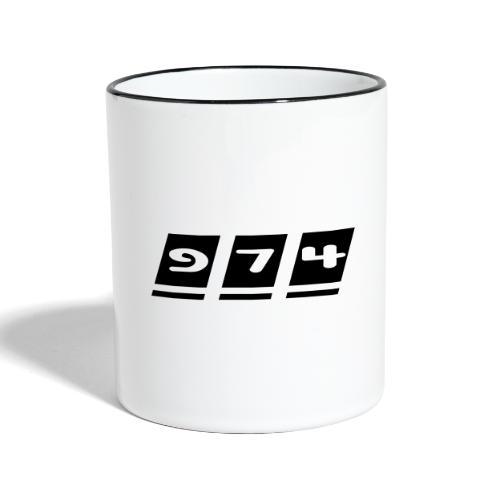 Ecriture 974 - Mug contrasté