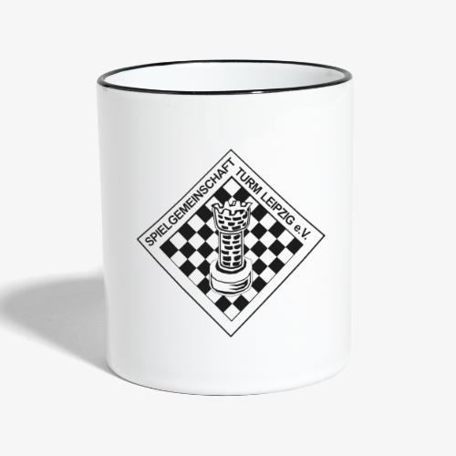 SG Turm Tassen - Tasse zweifarbig