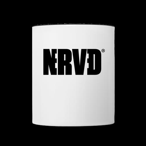 Official Nerved® Logo Black - Contrasting Mug