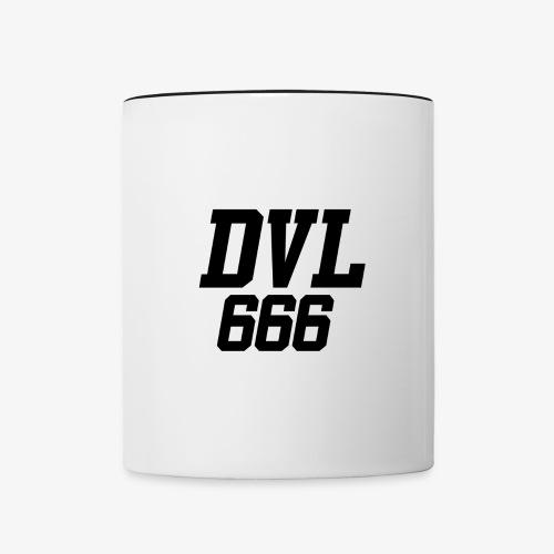 DVL666 - Taza en dos colores