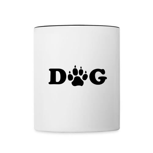 Dog - Mug contrasté
