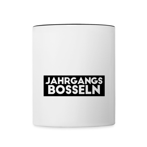 JGB_whitelabel - Tasse zweifarbig