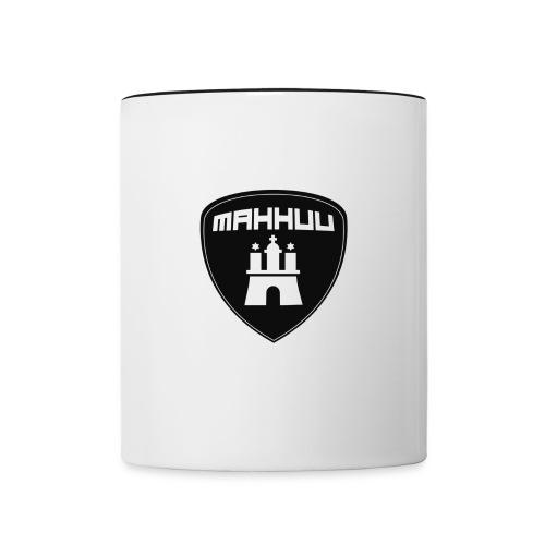 MaHHuU - Motorradfahrer aus Hamburg und Umgebung - Tasse zweifarbig