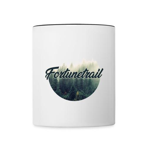 Waldluft - Tasse zweifarbig
