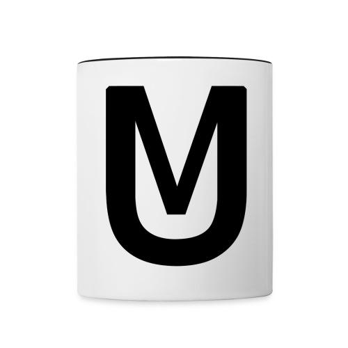 Black Ultimatti Productions Merch Design 2018 - Tasse zweifarbig