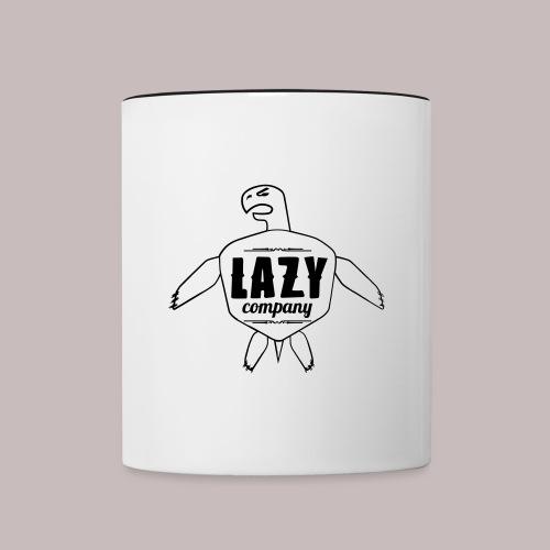 Lazy company - Mug contrasté
