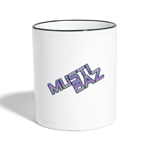 Mustibaz - Tasse zweifarbig