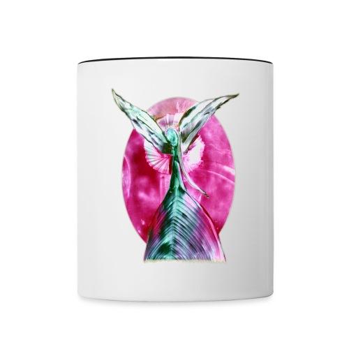 engel der harmonie - Tasse zweifarbig