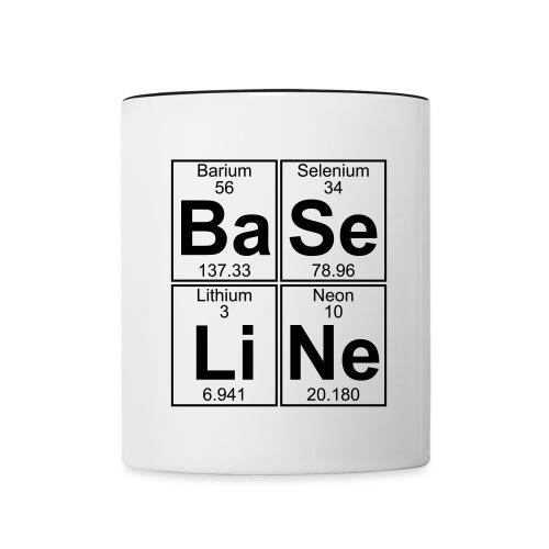 Ba-Se-Li-Ne (baseline) - Full - Contrasting Mug