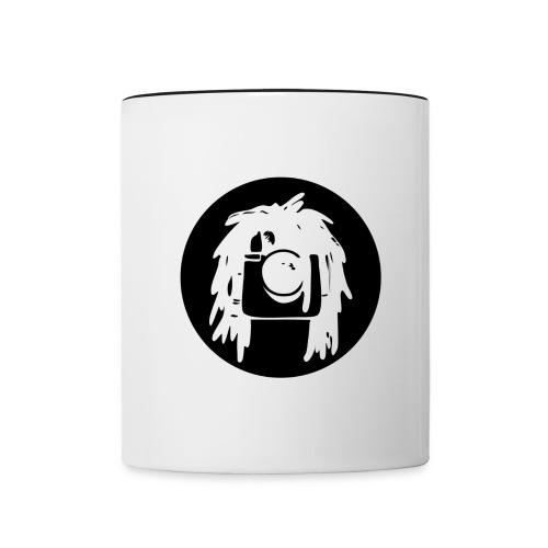 logo Rastagram nero - Contrasting Mug