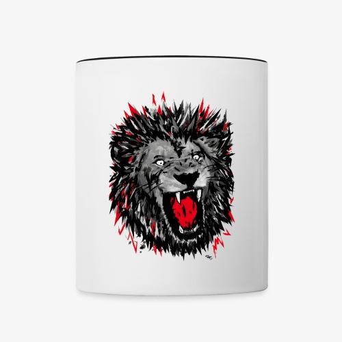 LionF - Mug contrasté