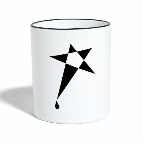 SWEATY STAR® Skateboarding Spread - Mug contrasté