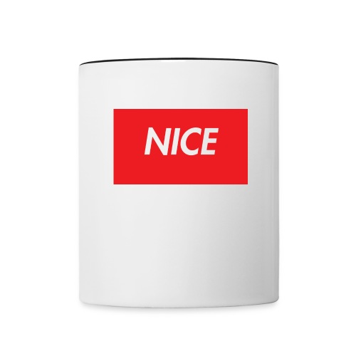 NEW* COOL* NICE * INSPO TEE***** - Tvåfärgad mugg