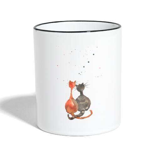 Wir staunen - Tasse zweifarbig
