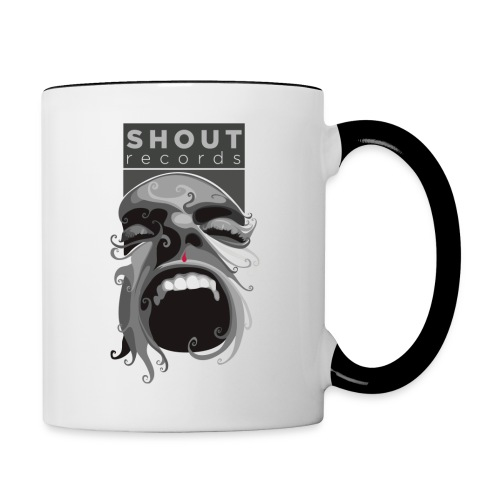 Shout logo vettoriale png - Contrasting Mug