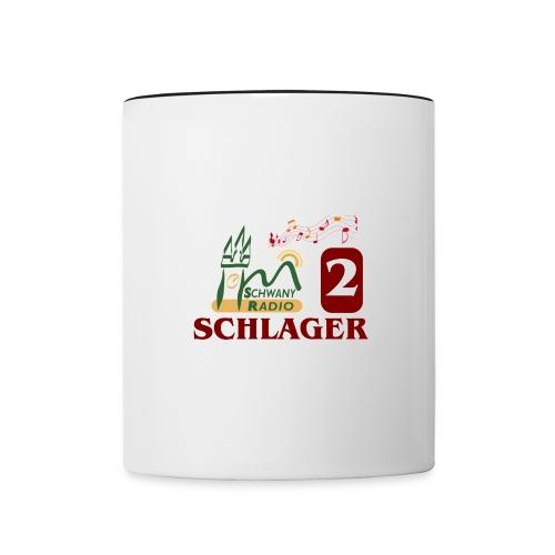 schwany2 logo - Tasse zweifarbig