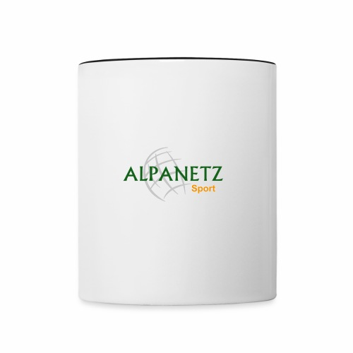 Alpanetz Logo Sport - Tasse zweifarbig