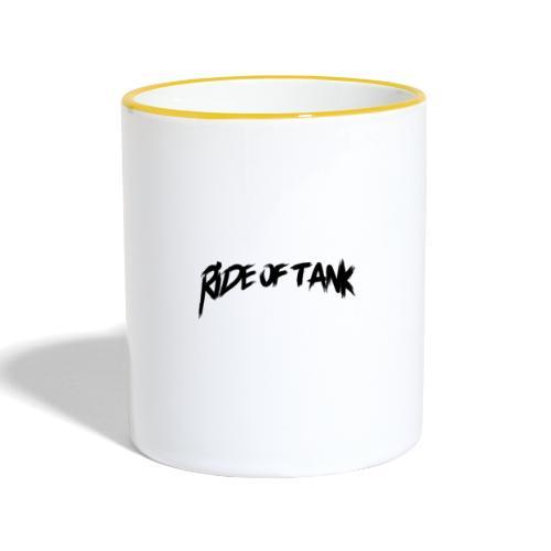 Team Ride of Tank - Mug contrasté