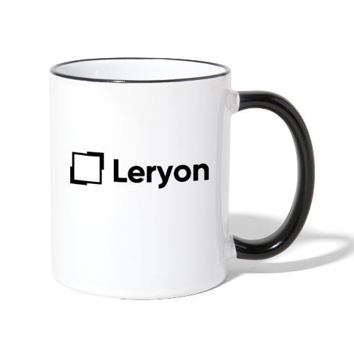 Leryon Text Brand - Contrasting Mug
