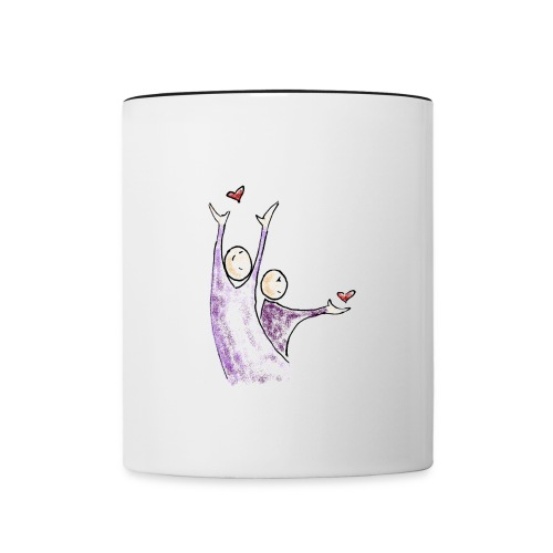 Free Love - Mug contrasté