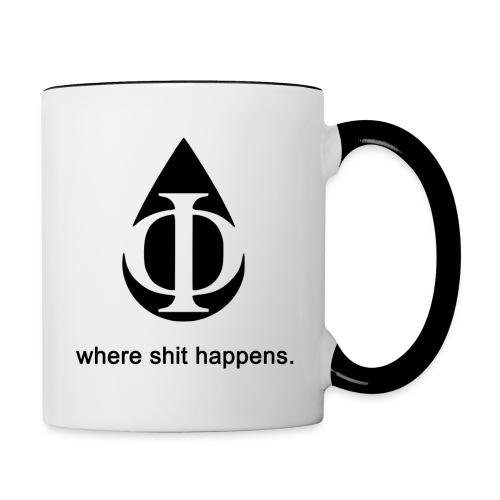 AquaPhi Logo - Contrasting Mug