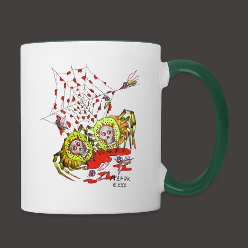 SPIDER KIWI - Mug contrasté