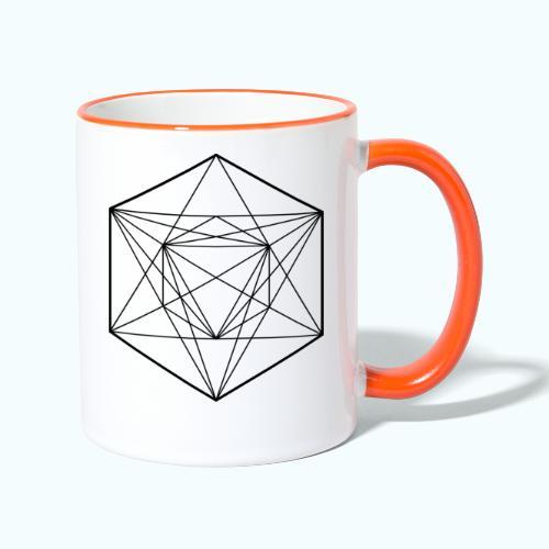 Geometrie Minimal - Contrasting Mug