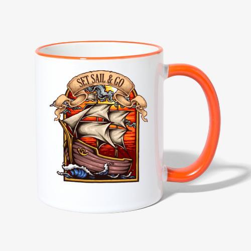 L'explorateur - Mug contrasté
