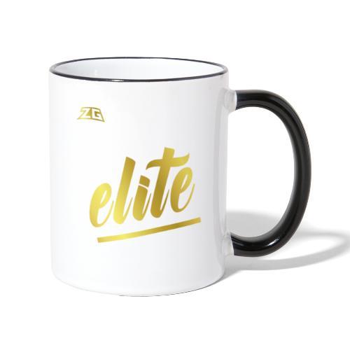 zeitloser stuff - Tasse zweifarbig
