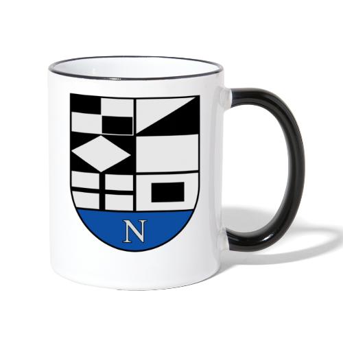 1200px Coat of arms of Neringa Lithuania svg - Tasse zweifarbig