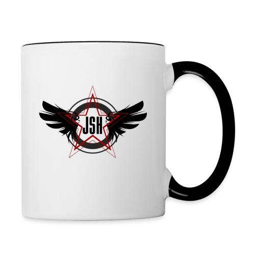 JSHLogo 10bsmall png - Contrasting Mug