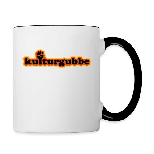 KULTURGUBBE - Tvåfärgad mugg