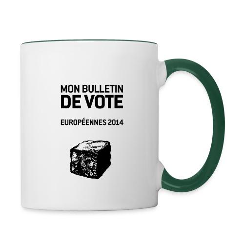 bulletin_europeene - Mug contrasté
