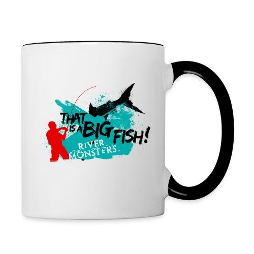 That is a big fish - Contrasting Mug
