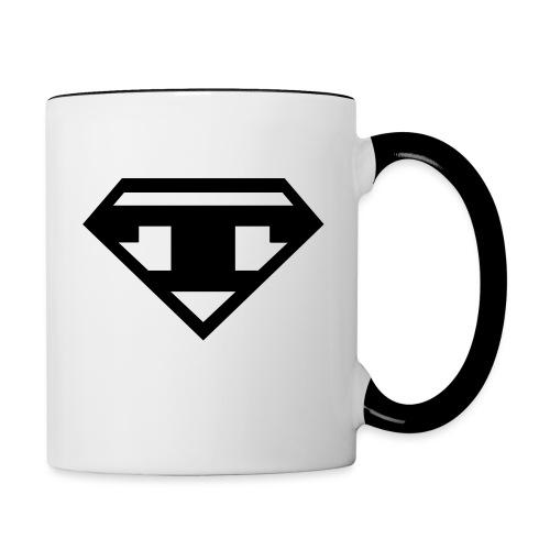 Twanneman logo - Mok tweekleurig