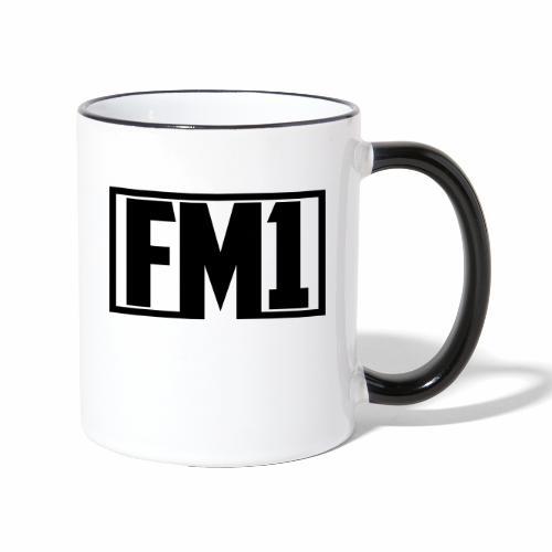 FM1 - Tofarvet krus