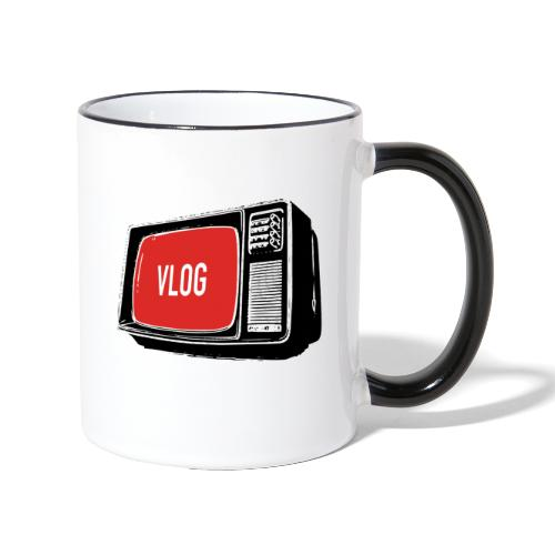 It's Vlogging Prime Time! - Contrasting Mug
